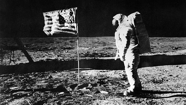 Neil Armstrong, den første mannen på månen