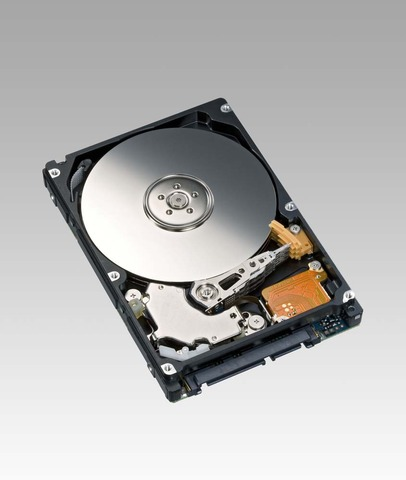 The first computer hard disk was used.