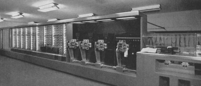Primer Ordenador Electromecanico