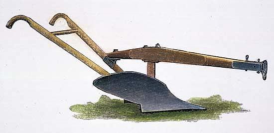 John Deere invents the steel plow.