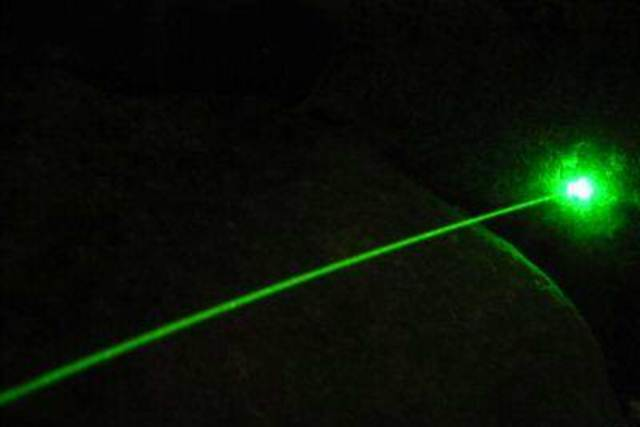 The laser was invented.