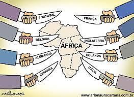 A partilha da Africa