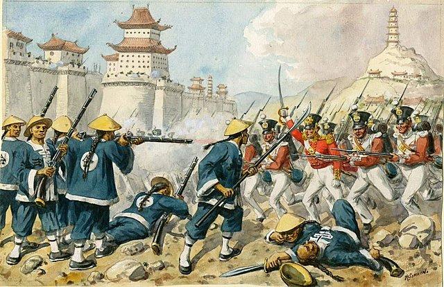 A ocupação da Ásia - Guerra do Ópio