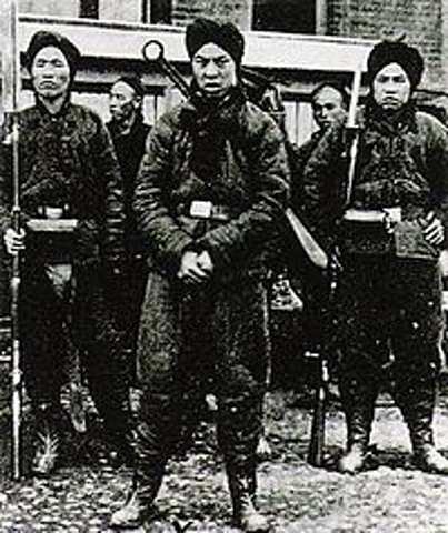 Imperialismo- resistência(Revolta dos Boxers)