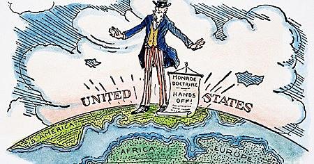 Imperialismo nos EUA- O Corolário Roosevelt