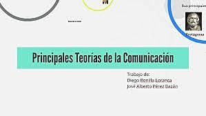 La Teoría de la Comunicación.