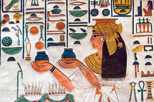 Использование нанотехнологий в Древнем Египте