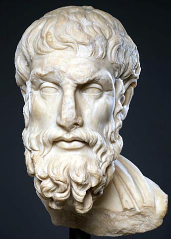 Epicuro. Escuela atomista, Siglo IV a.C