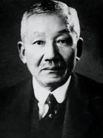 Hantaro Nagoka. Japonés, Modelo Saturnino (1903)
