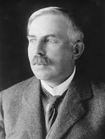 Ernest Rutherford. Neozelandés, Modelo atómico de Rutherford (1911)