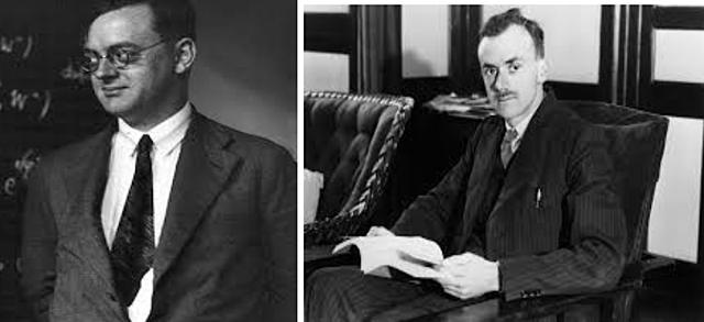 Paul Dirac y Pascual Jordan. Inglés y Alemán, (1928)
