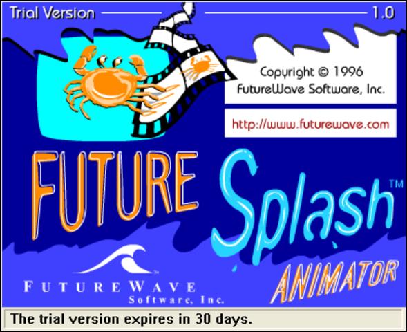 Nace la primera version de Flash