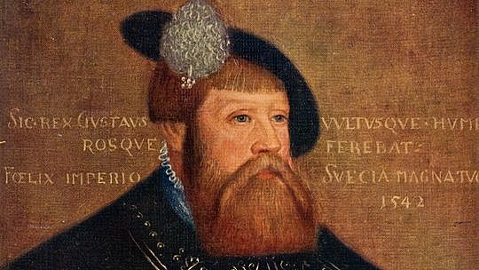 Gustav Vasa blir kung