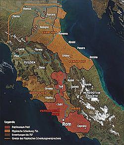 Incorporación de Roma y los Estados Pontificios