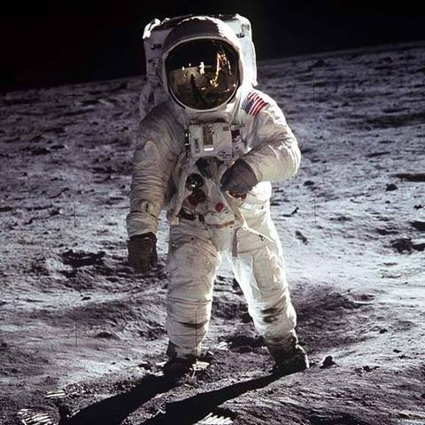 First Man on the Moon (Space Age)