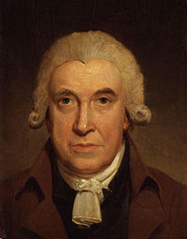 James Watt y la maquina de vapor