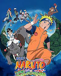 3º Naruto la Película: ¡La Gran Excitación! Pánico Animal en la Isla de la Luna