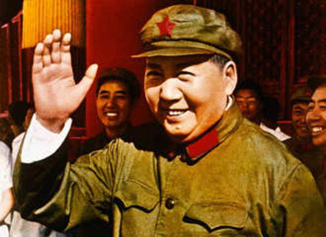 Mao declares China PRC