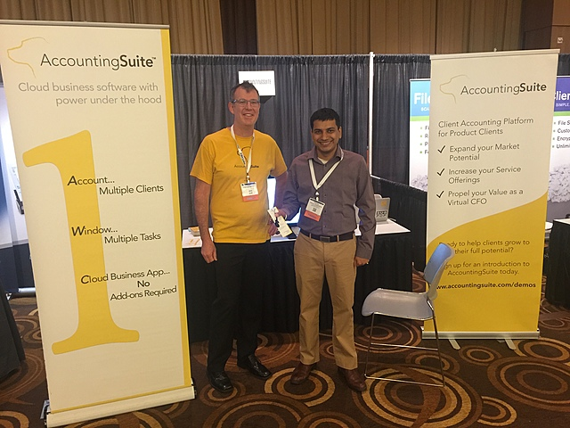 AccountingSuite™ attends the 2016 AICPA Practitioners Symposium and TECH+ Conference