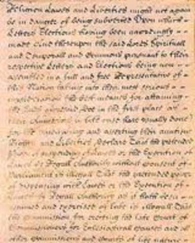 English Bill of Rights