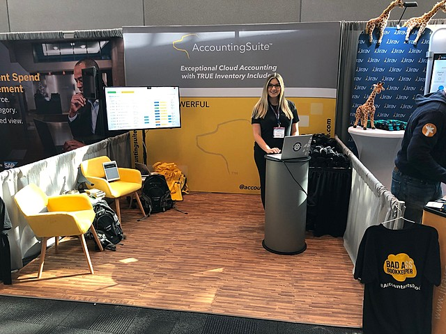 AccountingSuite™ attends The Accounting & Finance Show 2019