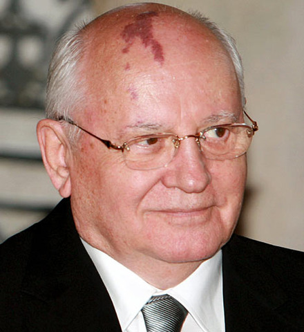 Mikhail Gorbachev comes to power.