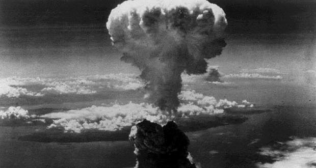 U.S. drops atomic bombs on Nagasaki