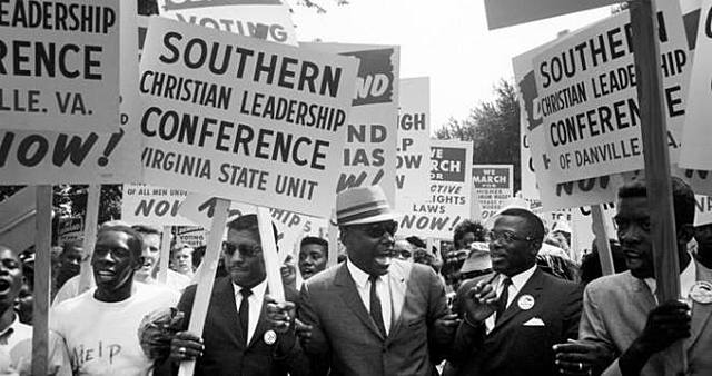Martin Luther King, Jr. and others set up the Southern Christian Leadership Conference