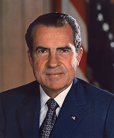 Richard Nixon elected President