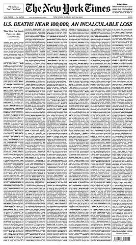 "Periódico: ""The New York Times""."
