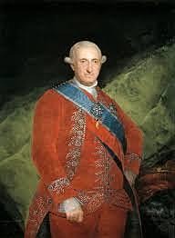 Llegada al trono de Carlos IV.
