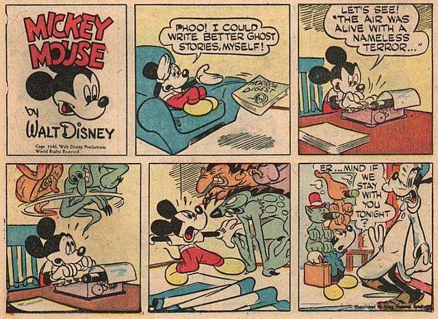 Tiras cómicas diarias de Michey Mouse por Floyd Gottfredson. (Segundo padre del Ratón).