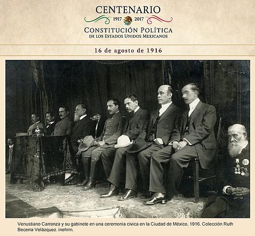 El decreto del 16/Agosto/1916