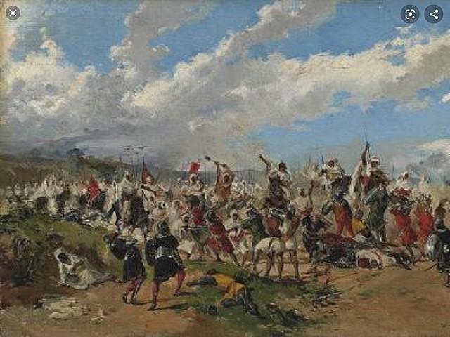 Invasión musulmana ( año 711 , después de cristo )