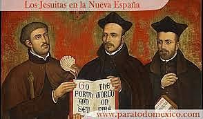 Llegada de la Compañía de Jesús a la Nueva España