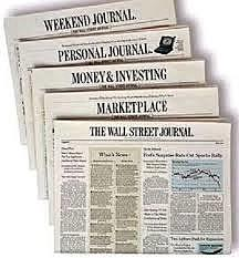 July 8, 1889The first issue of the Wall Street Journal is published.