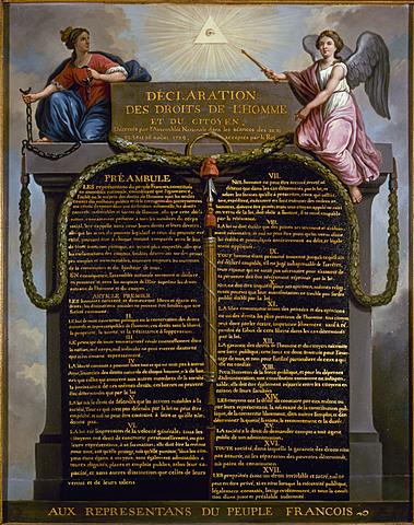 Declaración de Derechos del Hombre y del Cuidadano