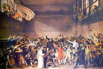 Estallido de la Revolución Francesa