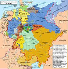 Confederación germánica.