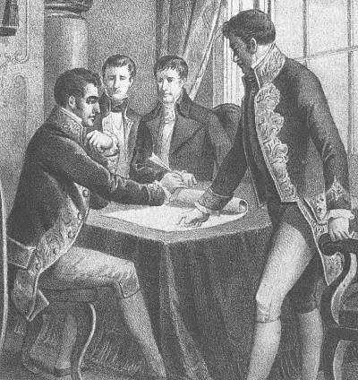 Tratado de Valençay: reconocimiento de Fernando VII como rey de España.