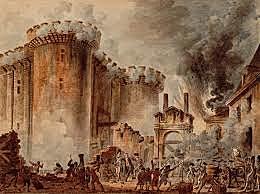 la caída de la Bastilla