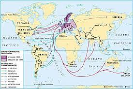 Migraciones transoceánicas