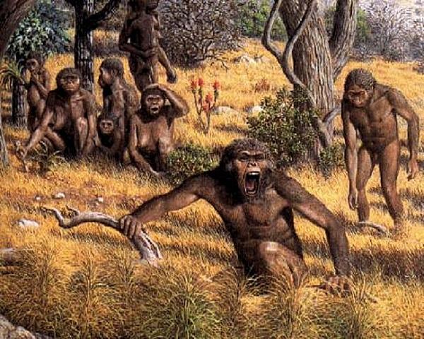 Savana- ominidi 6-7 milioni di anni fa