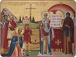 Η ανάθεση της ιεραποστολής εκχριστιανισμού στον Κύριλλο και Μεθόδιο
