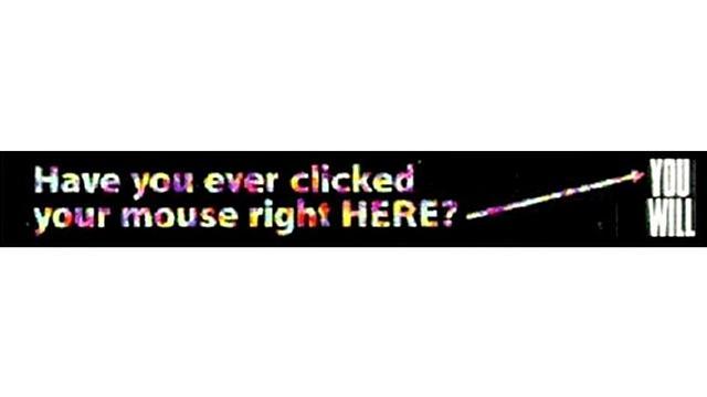 Primer banner en internet