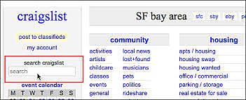 Craigslist, web de anuncios