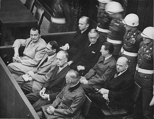 Les procès de Nuremberg.