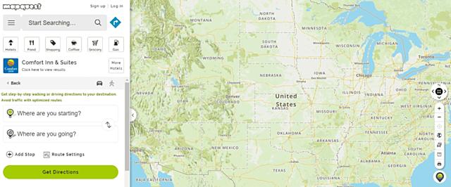 Primeros mapas online: MapQuest y Yahoo! Maps