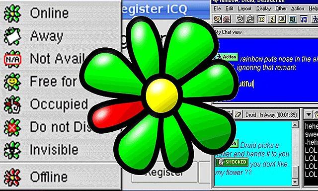 ICQ, mensajería instantánea