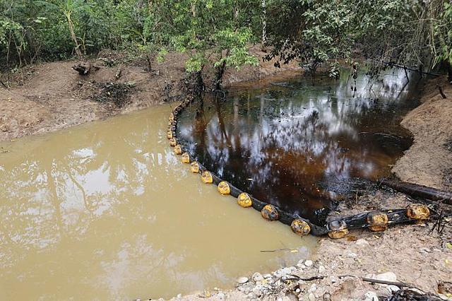 Falla en el pozo Lizama 158 de Ecopetrol